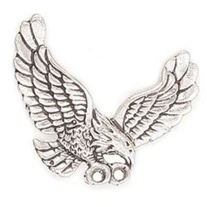 Picture of Silver Plated Copper Eagle Pendant 32x41mm