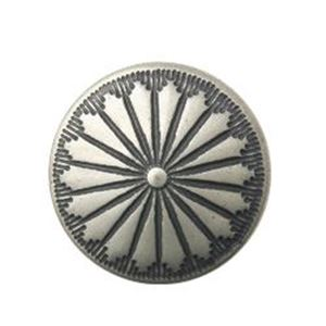 Picture of Nickel Silver Navajo Concho w/ Loop 12mm