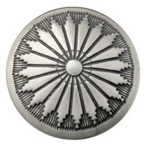 Picture of Nickel Silver Navajo Concho w/ Loop 17mm
