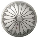 Picture of Nickel Silver Navajo Concho with Loop 21mm