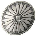Picture of Nickel Silver Navajo Concho w/ Loop 29x34mm