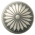 Picture of Nickel Silver Navajo Concho w/ Screw 21mm