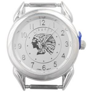Picture of Indian Head Watch 30x27mm, Pin Size 12mm