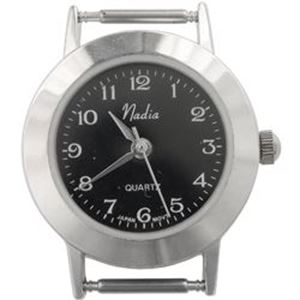 Picture of Black Face Watch 30x26mm, Pin Size 12mm