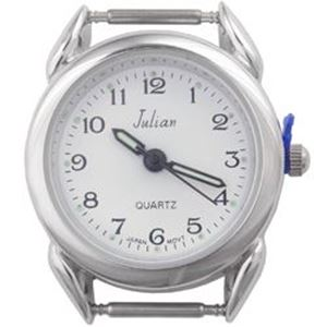 Picture of Bold White Face Watch 30x27mm, Pin Size 12mm