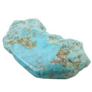 Picture of Turquoise Rough Clear Teal Stabilized Kingman