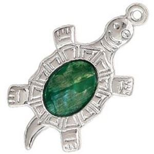 Picture of Abalone Green Turtle Pendant