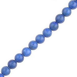 """Picture of Lapis Round Bead """"A"""" 4mm 16"""" Strand"""