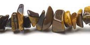 """Picture of Tiger Eye Chip Bead 36"""" Strand"""