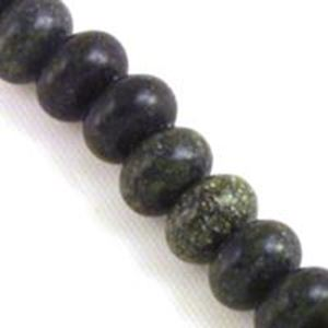 "Picture of Rondelle Russian Jade Bead 8mm 8"" Strand"