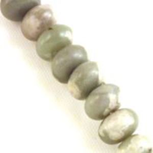 """Picture of Rondelle Peace Stone Bead 8mm 8"""" Strand"""