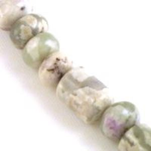 """Picture of Barrel Peace Stone Bead 8mm 8"""" Strand"""