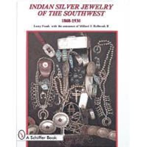 Picture of Indian Silver Jewelry of the Southwest 1868-1930 BOOK