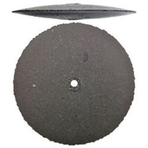 Picture of Cratex® Rubberized Abrasive Tapered Edge Wheel, Medium, 1 ~ Inch