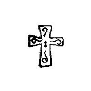 """Picture of Cross Stamp 3/8"""" tool"""