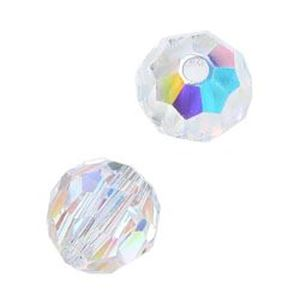 Picture of Swarovski Crystal AB Round Beads 6mm