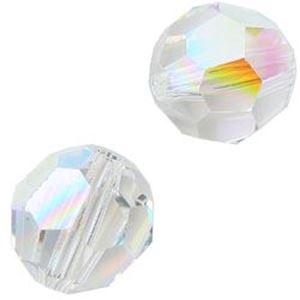 Picture of Swarovski Crystal Aurora Borealis Round Beads 8mm<br />6 ~ Beads