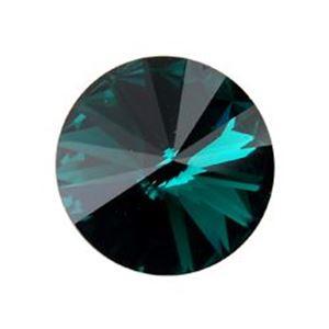 Picture of Swarovski Emerald Rivolis 12mm