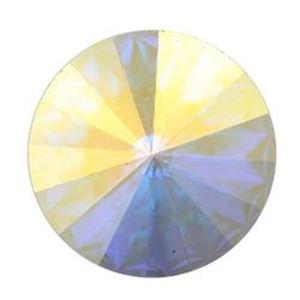 Picture of Swarovski Crystal Aurora Borealis Rivolis 14mm