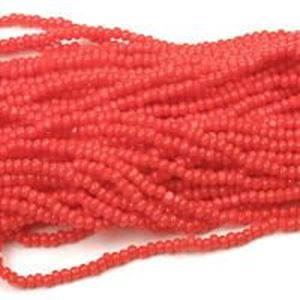 Picture of Coral Cut Seed Bead Size 13