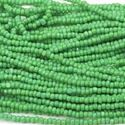 Picture of Green Cut Seed Bead #218 Size 13