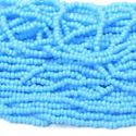 Picture of Blue Cut Seed Bead #240 Size 13