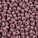 Picture of Opaque Dark Mauve Seed Bead Size 11<br />Approximately 25 ~        Grams