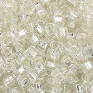 Picture of Silverlined Crystal Seed Bead #1 / Size #6<br />Approximately 25 ~        Grams