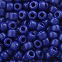 Picture of Opaque Cobalt Seed Bead #414 / Size 6<br />Approximately 25 ~ Grams
