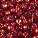 Picture of Silverlined Rusty Red Seed Beads Color #42 / Size #11<br ~        />Approximately 25 Grams