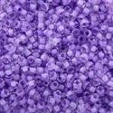 Picture of Colorlined Crystal Purple Seed Beads #222 / Size #11<br ~        />Approximately 25 Grams
