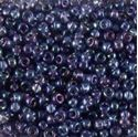 Picture of Aurora Borealis Ocean Blue  Seed Beads Color #299A Size 11<br ~        />Approximately 25 Grams