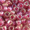 Picture of Amethyst Colorlined Fuchsia Seed Bead #356G / Size 11<br ~        />Approximately 25 Grams