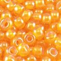 Picture of Orange Colorlined Orange Seed Bead #393 / Size 11<br />Approximately ~        25 Grams