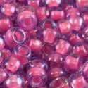 Picture of Blue Colorlined Fuchsia Seed Bead #397 / Size 11<br />Approximately ~        25 Grams
