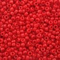Picture of Opaque Red Seed Bead #408 / Size 11<br />Approximately 25 ~        Grams