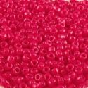 Picture of Opaque Dark Red Seed Bead #408A / Size 11<br />Approximately 25 ~        Grams