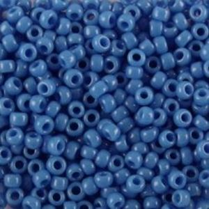 Picture of Opaque Sioux Blue Seed Bead #412E / Size 11<br />Approximately 25 ~        Grams