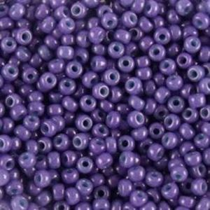 Picture of Opaque Indigo Seed Bead #413E / Size #11<br />Approximately 25 ~        Grams