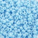 Picture of Opaque Baby Blue Seed Bead #413L / Size 11<br />Approximately 25 ~ Grams
