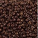 Picture of Metallic Reddish Copper Seed Bead #457C / Size 11<br />Approximately ~        25 Grams