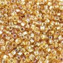 Picture of Silverlined Gold AB Seed Bead #634 / Size 11<br />Approximately 25 ~        Grams