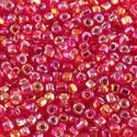 Picture of Silverlined Red AB Seed Bead #638 / Size 11<br />Approximately 25 ~ Grams