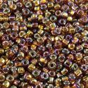 Picture of Silverlined Brown AB Seed Bead #648 / Size 11<br />Approximately 25 ~        Grams