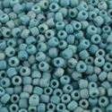 Picture of Opaque Turquoise Matte AB Seed Bead #F430R / Size 11<br ~        />Approximately 25 Grams