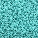 Picture of Opaque Medium Turquoise Seed Bead #412 / Size 15<br />Approximately ~        25 Grams