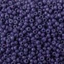Picture of Opaque Indigo Seed Bead #413E / Size 15<br />Approximately 25 ~        Grams
