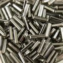 Picture of Silverlined Grey Bugle Beads #21 / Size 6mm<br />Approximately 25 ~        Grams