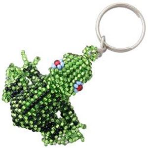 Picture of Beaded Frog Key Chain