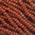 Picture of Brown Cut Seed Bead #75 Size 13